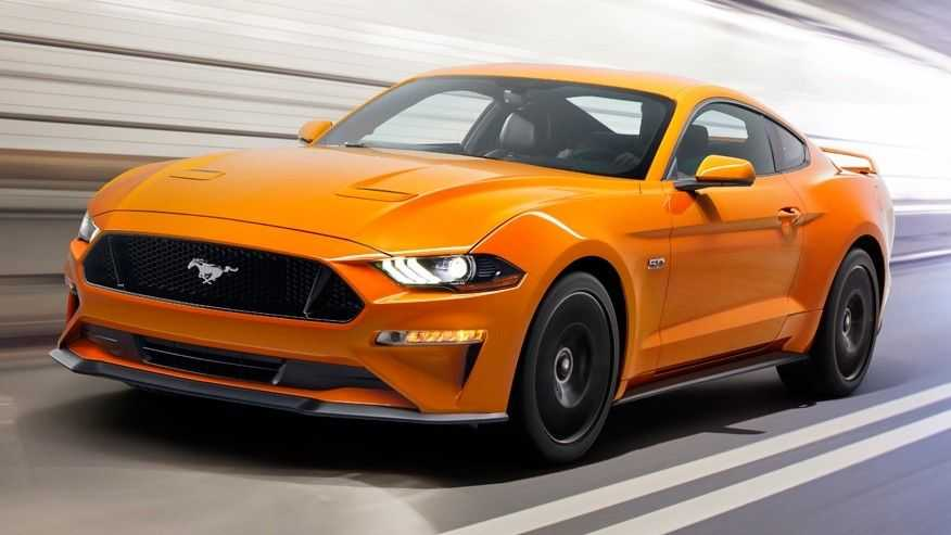 Ngam ve dep 'chat lu' cua  sieu xe Ford Mustang 2018 hinh anh 1