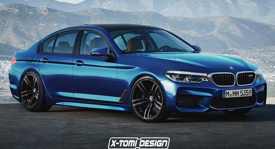 BMW M5 G30 trinh lang, ha guc Mercedes-AMG E63 hinh anh 1