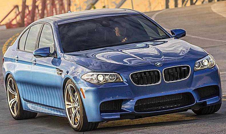 BMW M5 G30 trinh lang, ha guc Mercedes-AMG E63 hinh anh 3