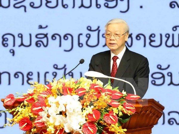 Thuc day hop tac toan dien Viet Nam-Campuchia len tam cao moi hinh anh 1