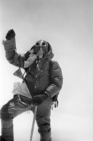 Anh hiem ve chuyen chinh phuc dinh Everest cua doan tham hiem Lien Xo hinh anh 8