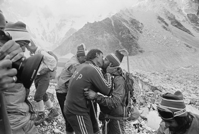 Anh hiem ve chuyen chinh phuc dinh Everest cua doan tham hiem Lien Xo hinh anh 10