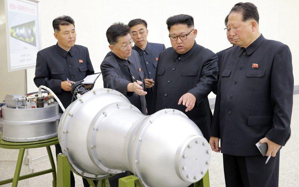 Han Quoc: Trieu Tien lai chuan bi ban ten lua dan dao sau thu bom nhiet hach hinh anh 1