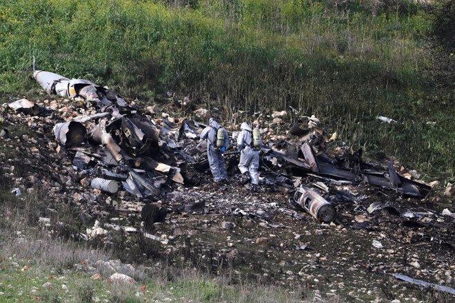 Israel trut con gian xuong Syria sau vu F-16 bi ban roi hinh anh 1