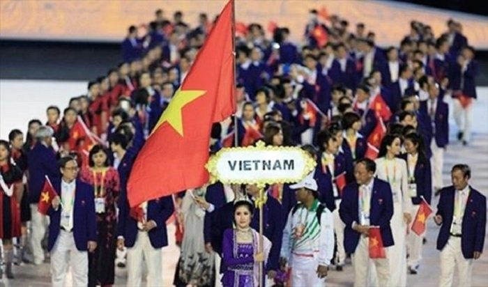 The gioi tung ho the thao Viet Nam tai SEA Games 29 va U23 chau A hinh anh 1