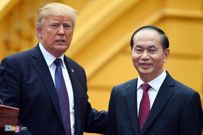Tong thong Trump chuc Tet nguoi dan Viet Nam hinh anh 1