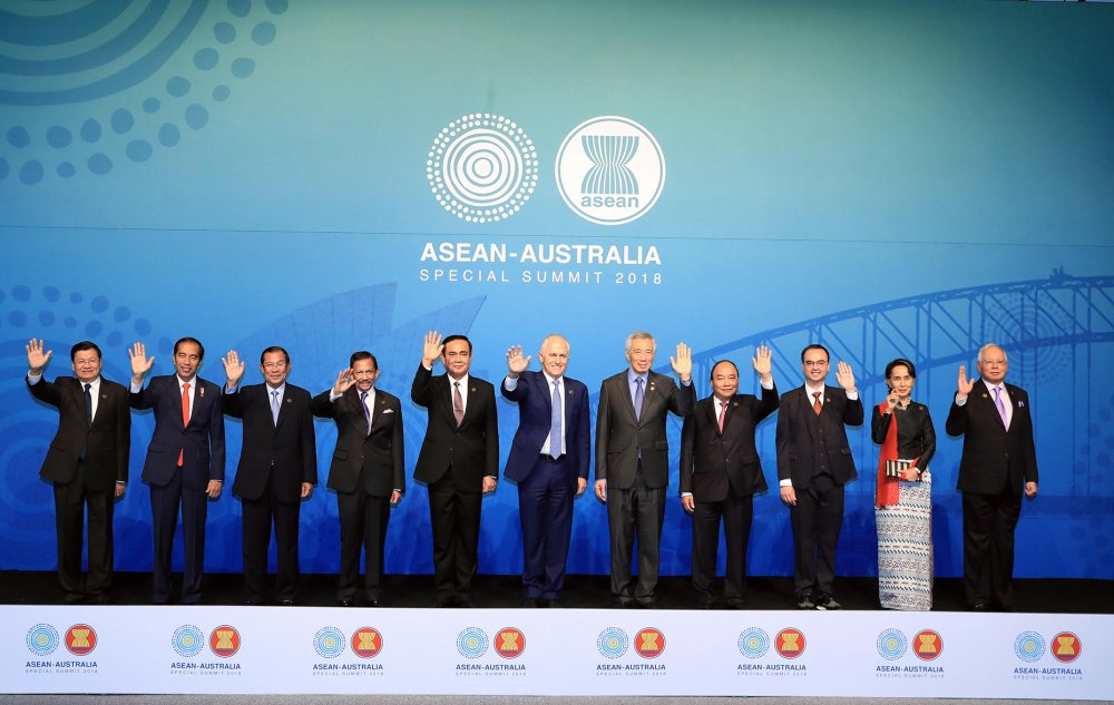 Thu tuong bat dau du cac hoat dong trong khuon kho Hoi nghi ASEAN - Australia hinh anh 1