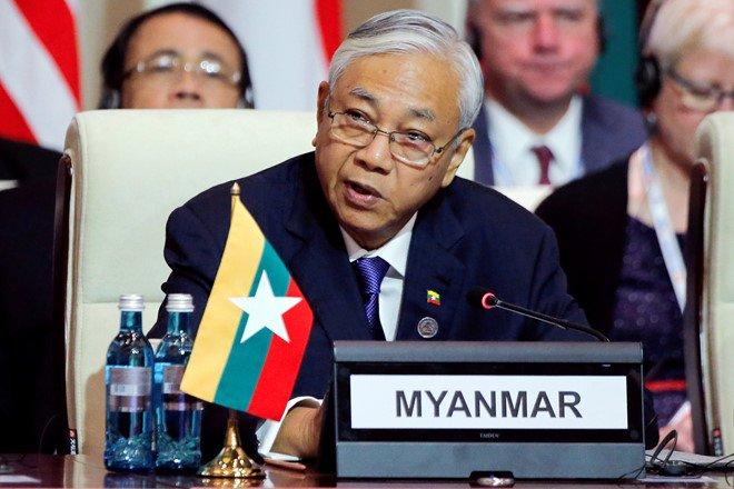 Tong thong Myanmar tu chuc hinh anh 1