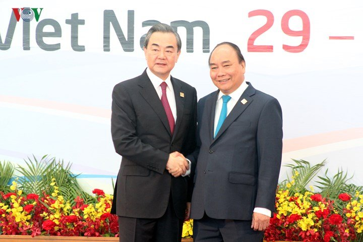 Anh: Thu tuong chu tri le don cac truong doan du GMS6 va CLV10 hinh anh 4