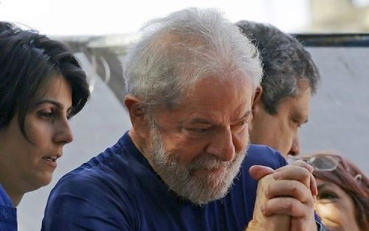 Cuu Tong thong Brazil Lula da Silva toi nha tu thu an hinh anh 1