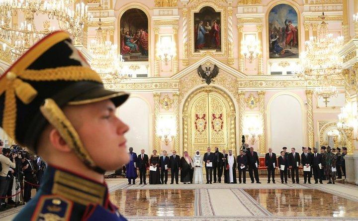 Dai su Viet Nam tai Lien bang Nga Ngo Duc Manh trinh Quoc thu len Tong thong Putin hinh anh 1