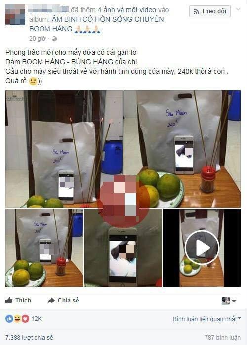 Chieu tro 'nhuc mat' cua dan kinh doanh online: Coi ao khoe than, lap ban tho 'cung song' khach hang hinh anh 5