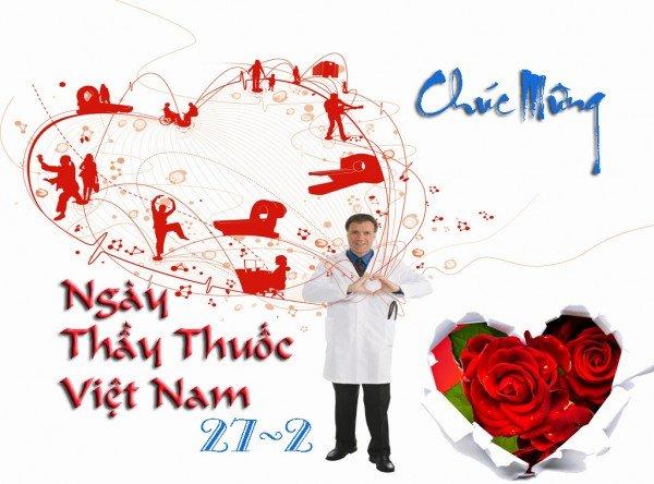 Nhung tam thiep chuc mung ngay Thay thuoc Viet Nam 27/2 dep va y nghia hinh anh 1