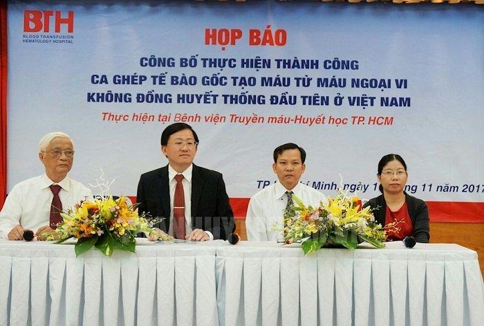 Nhung 'lan dau tien' cua nganh y te Viet Nam 2017 hinh anh 7