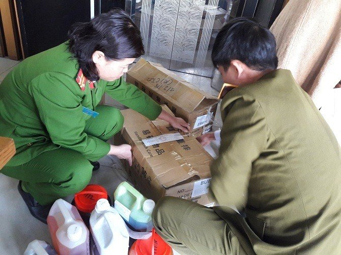 Nguyen lieu tran chau trong tra sua Ding Tea khong ro nguon goc hinh anh 1
