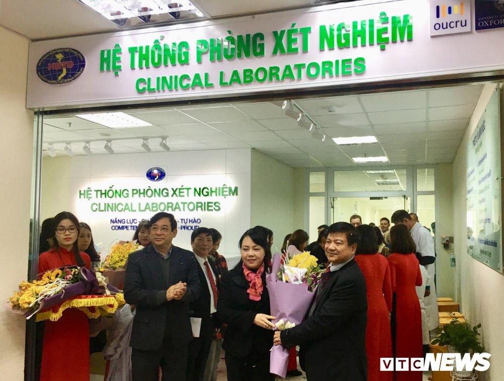 Viet Nam chinh thuc van hanh phong xet nghiem 60 ty chong khang khang sinh hinh anh 1