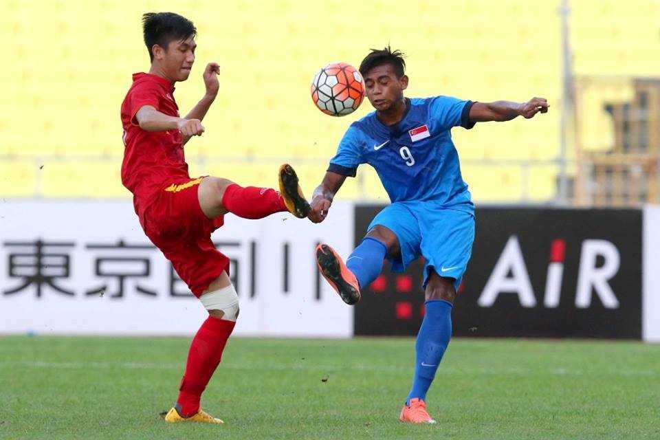 Chum anh: U21 Viet Nam thang kich tinh U21 Singpore hinh anh 3