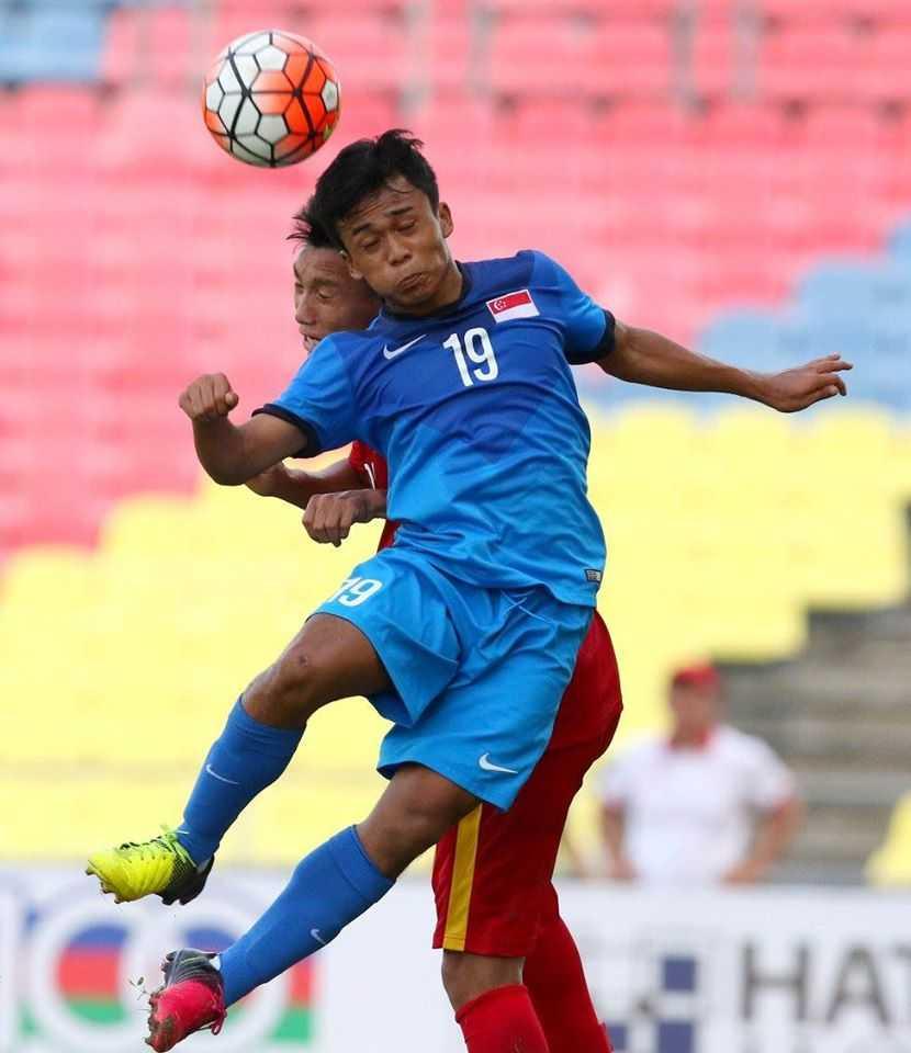 Chum anh: U21 Viet Nam thang kich tinh U21 Singpore hinh anh 5