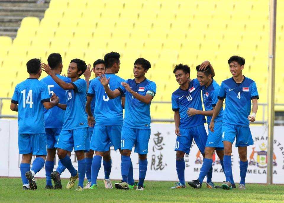 Chum anh: U21 Viet Nam thang kich tinh U21 Singpore hinh anh 11