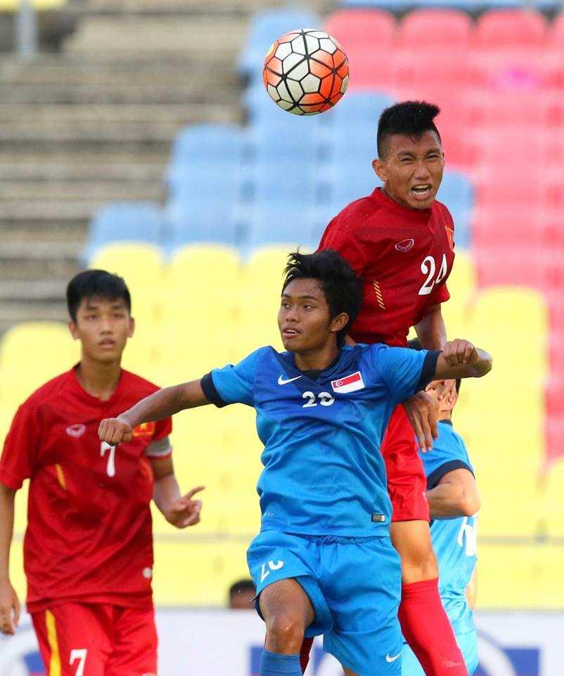 Chum anh: U21 Viet Nam thang kich tinh U21 Singpore hinh anh 4
