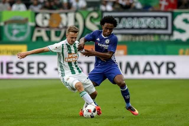 Chelsea de thua Rapid Wien, Conte lo au ngay ra mat hinh anh 2