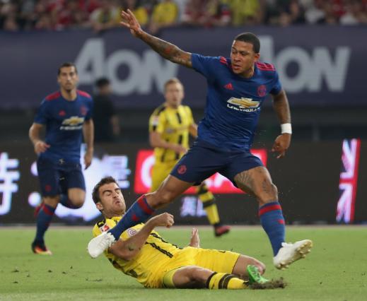 Thi dau nhat nhoa, Manchester United dai bai truoc Dortmund hinh anh 1