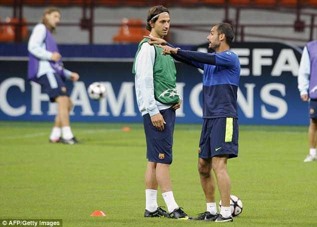 Jose Mourinho vs Pep Guardiola: Dinh menh Zlatan Ibrahimovic hinh anh 4