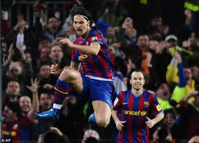 Jose Mourinho vs Pep Guardiola: Dinh menh Zlatan Ibrahimovic hinh anh 5