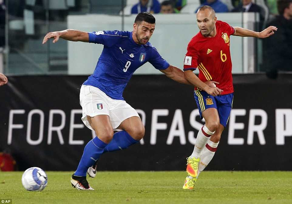 Ket qua vong loai World Cup 2018 khu vuc chau Au: Italia, Tay Ban Nha bat phan thang bai hinh anh 1