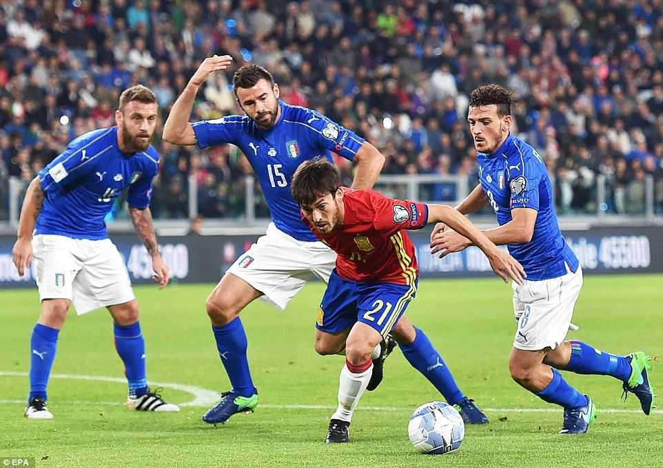 Ket qua vong loai World Cup 2018 khu vuc chau Au: Italia, Tay Ban Nha bat phan thang bai hinh anh 2