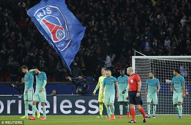 PSG 4-0 Barca: Messi te hai, Barca kho lat nguoc the co hinh anh 1