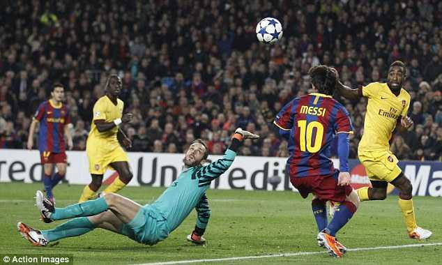 6 lan 'ngang cao dau' roi Champions League cua Arsenal hinh anh 1