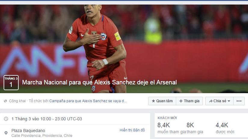 Co dong vien len ke hoach dua Alexis Sanchez roi Arsenal hinh anh 2