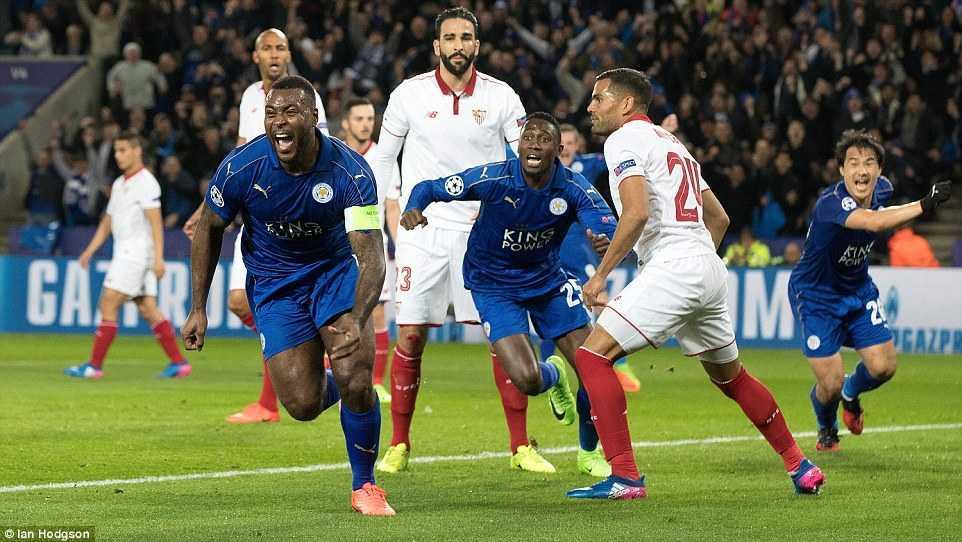 Ket qua Champions League: Danh bai Sevilla, Leicester City lam nen phep mau hinh anh 2