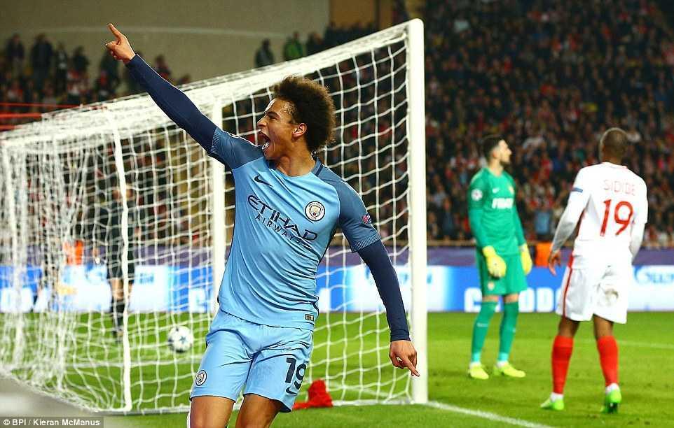 Ket qua Champions League: Vui dap Man City, Monaco thang tien vao tu ket hinh anh 3