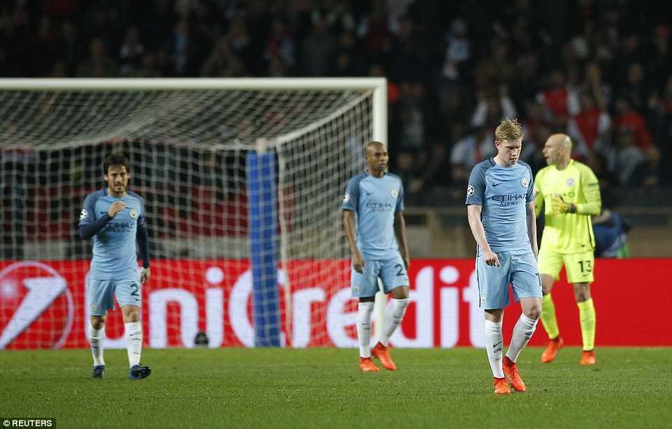 Ket qua Champions League: Vui dap Man City, Monaco thang tien vao tu ket hinh anh 4