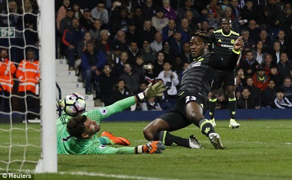 Video ket qua West Brom vs Chelsea: Chelsea vo dich Ngoai hang Anh som 2 vong dau hinh anh 1