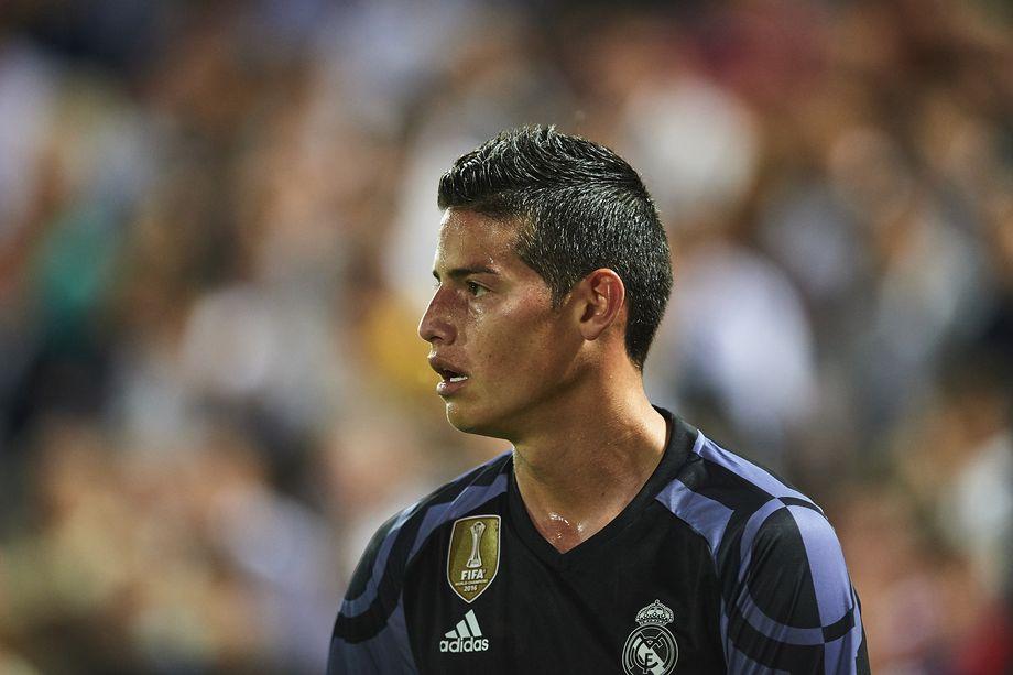 Zidane bong gio kha nang ban James Rodriguez hinh anh 1