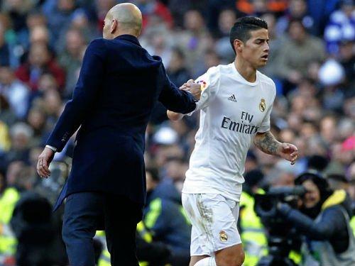 Zidane bong gio kha nang ban James Rodriguez hinh anh 2