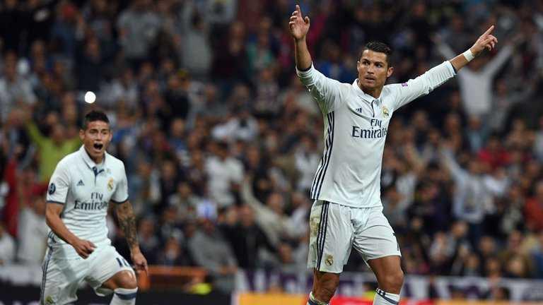 Ronaldo ghi ban, Real Madrid nguoc dong ha Sporting trong 5 phut hinh anh 1