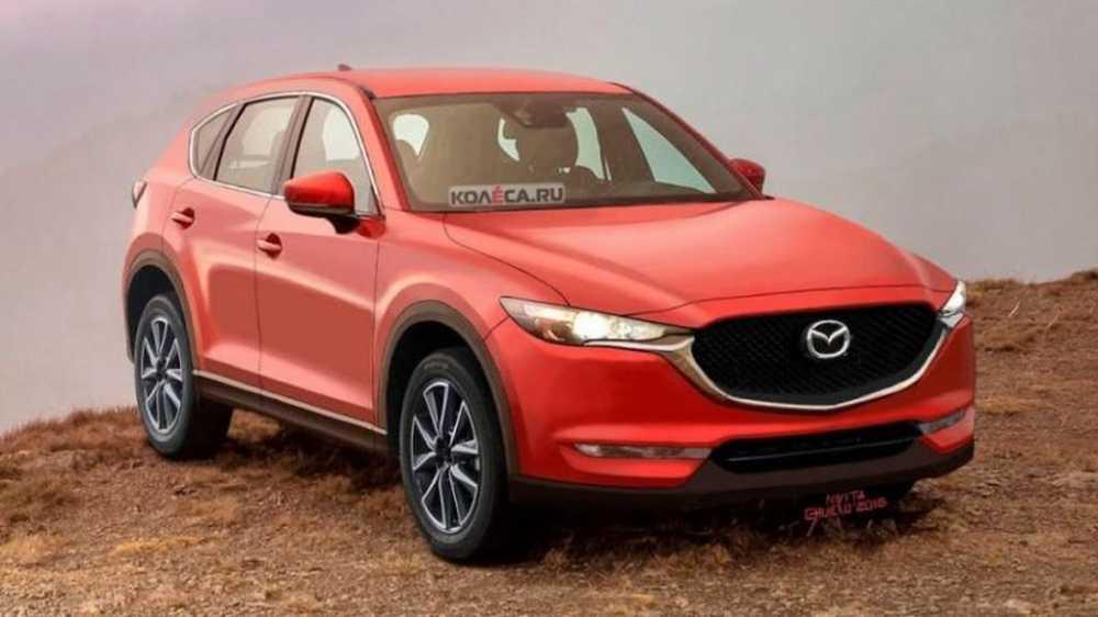 Bat ngo bat gap Mazda CX-5 phien ban chay thu tren pho 'dep ngo ngang' hinh anh 1