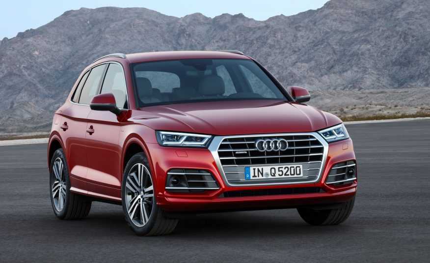 Ngam 've dep toc do' cua Audi Q5 2018 trong trien lam Los Angeles Auto Show hinh anh 2
