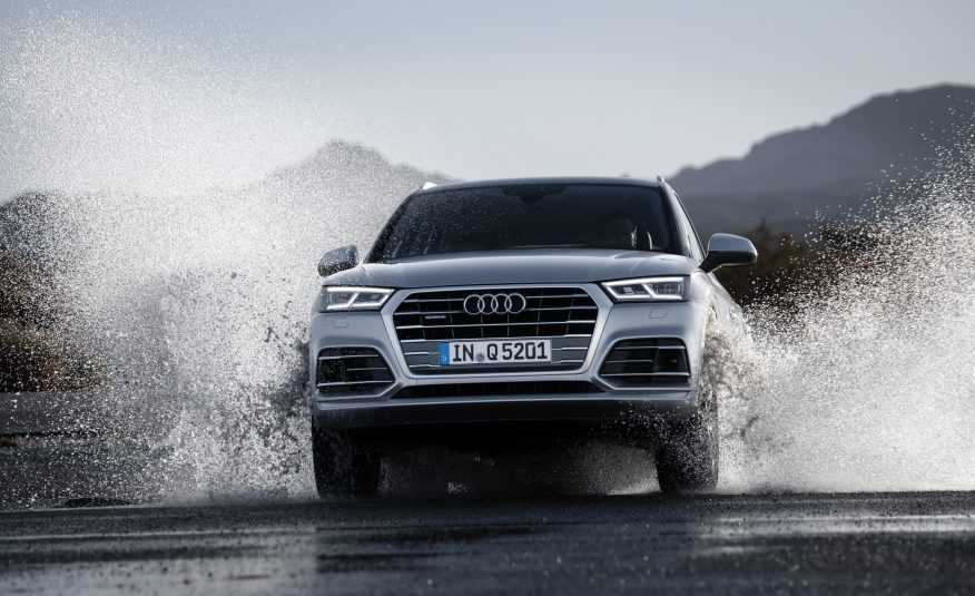Ngam 've dep toc do' cua Audi Q5 2018 trong trien lam Los Angeles Auto Show hinh anh 4