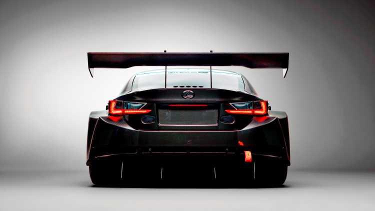 Lexus RC F GT3 2017, xe dua the he moi chinh thuc trinh lang hinh anh 3