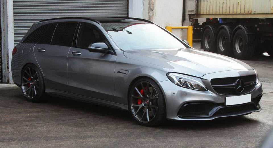 Mercedes-AMG C63 S Estate, mau xe ly tuong danh cho gia dinh hinh anh 2