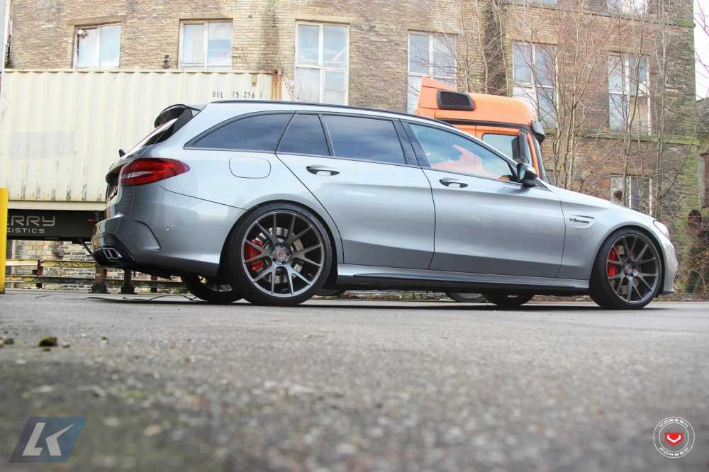 Mercedes-AMG C63 S Estate, mau xe ly tuong danh cho gia dinh hinh anh 4