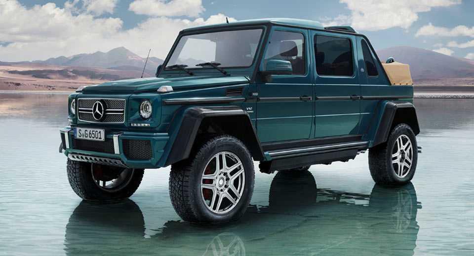 Lo dien sieu xe Mercedes-Maybach G650 Landaulet sang trong hinh anh 1