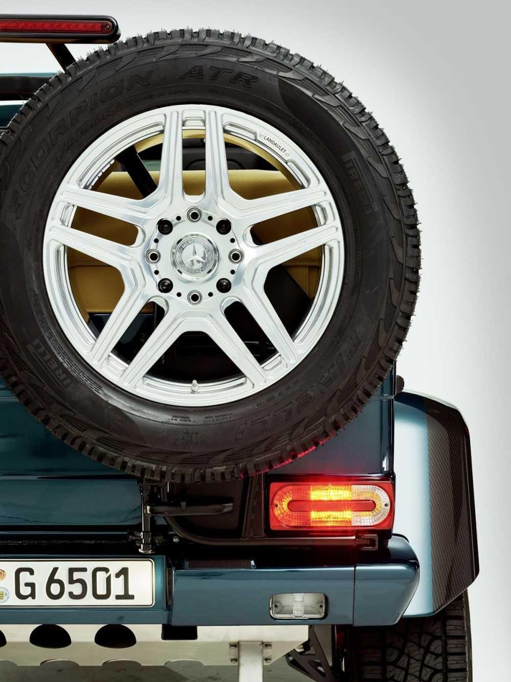 Lo dien sieu xe Mercedes-Maybach G650 Landaulet sang trong hinh anh 5