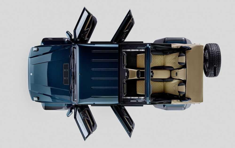 Lo dien sieu xe Mercedes-Maybach G650 Landaulet sang trong hinh anh 4
