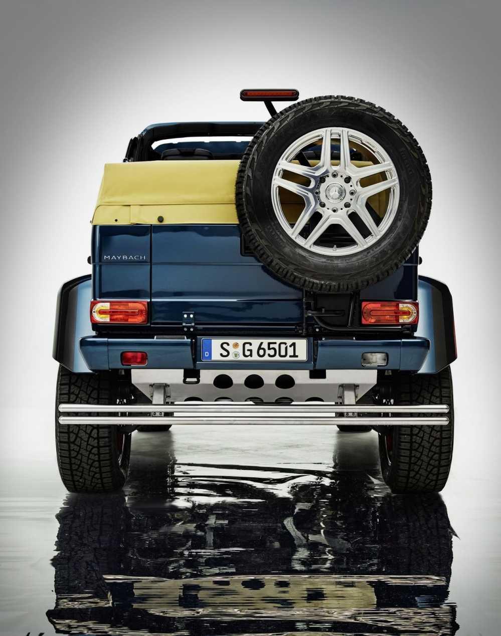 Lo dien sieu xe Mercedes-Maybach G650 Landaulet sang trong hinh anh 9
